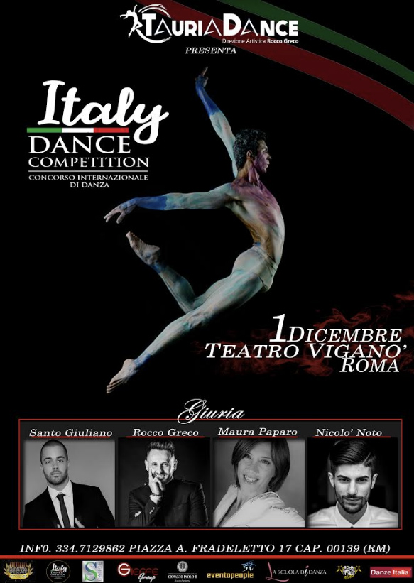 Italy Dance Competition 2019 locandina